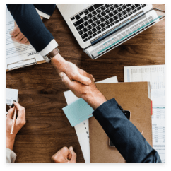bussiness handshake